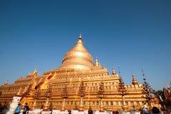 Pagoda di Shwezigon immagine stock