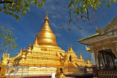 Pagoda di sigo di Shwe Fotografia Stock