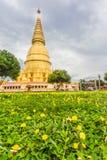 Pagoda di Sriwiengchai a Wat Phra Bat Huai Tom Immagine Stock