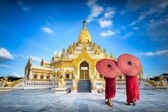 Pagoda di Swal Taw fotografie stock libere da diritti