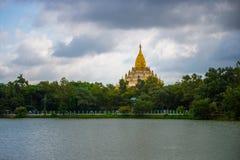 Pagoda di Swel Daw, Rangoon, Myanmar Immagine Stock