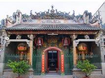 Pagoda di Thien Hau, Ho Chi Minh City Immagini Stock Libere da Diritti