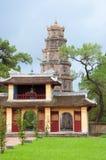 Pagoda di Thien MU nel Vietnam Fotografie Stock