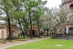 Pagoda di Thien MU, tonalità, Vietnam Immagine Stock