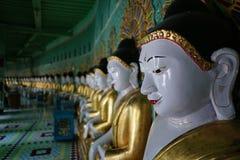 Pagoda di U-min-Thone-Sel Collina di Sagaing Mandalay, Myanmar Fotografia Stock