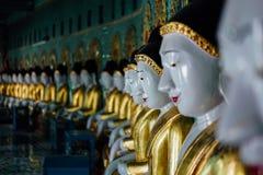 Pagoda di U-min-Thone-Sel Collina di Sagaing Mandalay, Myanmar Immagini Stock
