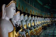 Pagoda di U-min-Thone-Sel Collina di Sagaing Mandalay, Myanmar Fotografie Stock