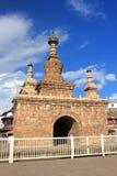 Pagoda di Varja nella città antica di Guandu, Kunming, Cina Immagine Stock Libera da Diritti