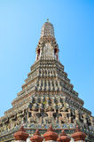 Pagoda di Wat Arun a Bangkok Tailandia Fotografia Stock Libera da Diritti