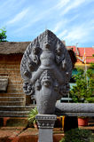 Pagoda di Wat Preah Prom Rath immagini stock libere da diritti