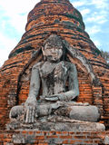 Pagoda di Yadana Hsemee, tempio buddista antico immagini stock