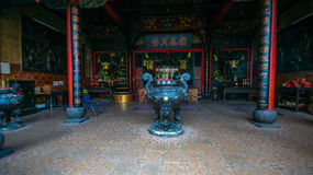 In pagoda in 5 District in Hochiminh City royalty free stock images