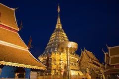 Pagoda do suthep do doi do thad de Pra Foto de Stock