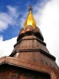 Pagoda at Doi Intanon, Chiang Mai, Thailand Royalty Free Stock Photo