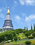 The pagoda on Doi Inthanon Stock Photo
