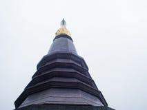 Pagoda Doi Inthanon Chiangmai Tajlandia noppha methanidon-nop Obrazy Stock