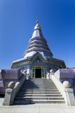 Pagoda at Doi Inthanon National Park Royalty Free Stock Image