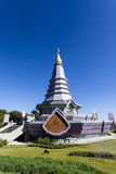 Pagoda at Doi Inthanon National Park Royalty Free Stock Images