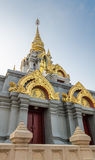 Pagoda, Doi Masalong Stock Photo