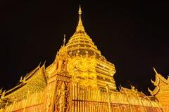 Pagoda at Doi Suthep temple. Stock Photos
