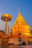 Pagoda Doi Suthep Stock Photography