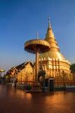 Pagoda dorata Fotografie Stock
