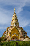 Pagoda dorata al kaew del figlio di Pha Fotografia Stock