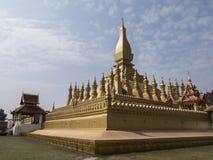 Pagoda dorata di Vientiane fotografia stock libera da diritti