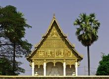 Pagoda dorata a Wat Pha-Che Luang in Vientian.This è buddismo Fotografia Stock Libera da Diritti