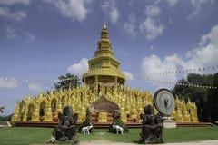 500 pagoda1 dorati Immagini Stock Libere da Diritti