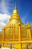 Pagoda dorato Immagini Stock