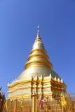Pagoda dorato Fotografie Stock Libere da Diritti
