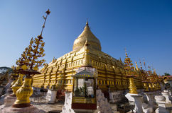 Pagoda dorato immagine stock libera da diritti