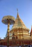 Pagoda dourado Imagens de Stock Royalty Free