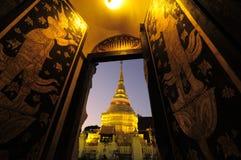Pagoda dourado Imagens de Stock