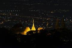 Pagoda dourado Imagem de Stock
