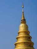 Pagoda dourado Imagem de Stock Royalty Free