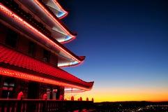 Pagoda du Japon Image stock