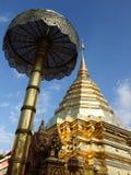 Pagoda du nord thaïe de temple Photo libre de droits