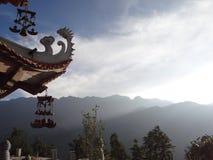 Pagoda du Vietnam images libres de droits