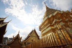 Pagoda e cielo Fotografie Stock