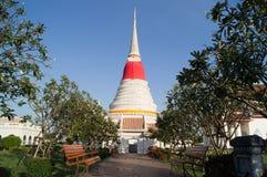 Pagoda e flores Foto de Stock