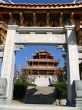Pagoda e porta imagens de stock royalty free
