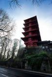Pagoda en Bruselas Foto de archivo