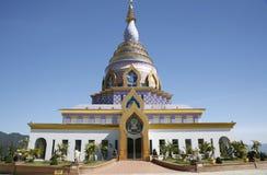 Pagoda en céramique dans Chiang Mai, Thaïlande Photos libres de droits