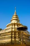Pagoda en Chiang Mai, Thaïlande Photos libres de droits