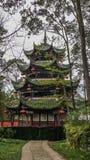 Pagoda en China al sudoeste fotos de archivo