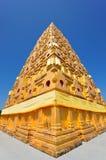 Pagoda en ciel bleu Photos libres de droits