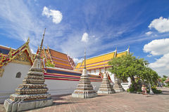 Pagoda en cielo azul Fotos de archivo libres de regalías