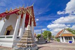 Pagoda en cielo azul Imagenes de archivo